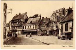 Gaillon - Place De L'église ( Pub Murale Dubonnet ) - France