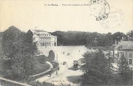 Le Mans (Sarthe) - Place Des Jacobins Et Théâtre - Edition N.G. - Le Mans