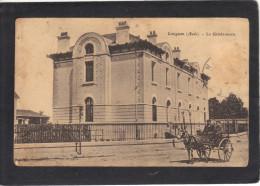 Aude - LEZIGNAN - La Gendarmerie - Animée - Petits Défauts Mais Carte Correcte - Autres Communes