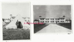 Camp De Mourmelon-mess Des Officiers Lieutenant Foret-dentelées 8x 10,8cm - Guerre, Militaire