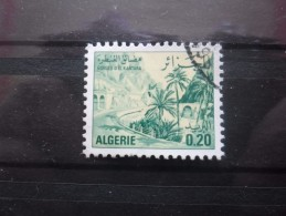 alg�rie N�657 GORGES d'EL KANTARA oblit�r�