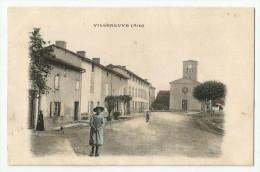 CPA AIN - 01 - Villeneuve - Frankrijk