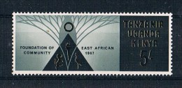 Ostafrikanische Gemeinschaft 1967 Symbe Mi.Nr. 168 ** - Kenya, Uganda & Tanganyika