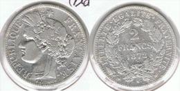 FRANCIA 2 FRANCOS 1872 K PLATA SILVER - 1789 – 1795 Monedas Constitucionales