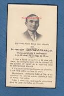 Faire-Part De Décés - LANFROICOURT ( Meurthe Et Moselle ) - Monsieur Adrien GERARDIN - Décédé Le 26 Octobre 1952 - Obituary Notices