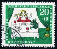 A10-14-2) BRD - Michel 524 - OO Gestempelt (A) - 20+10Pf Der Froschkönig, Wohlfahrt 66 - [7] West-Duitsland