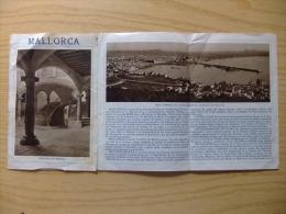 ANTIGUO FOLLETO INFORMATIVO DE LA CIUDAD -   PALMA DE MALLORCA -  VER FOTOS - Folletos Turísticos