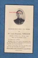 Faire-Part De Décés - NANCY ( Meurthe Et Moselle ) - M. Louis Alexandre FARGNIER - Officier Marine Nationale - Barcos