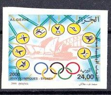 ALG Algeria - N ° 1245 Imperforate Sydney Olympic Games 2000 Sport Australia Jeux Olympiques - Ete 2000: Sydney