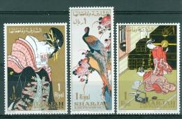 Sharjah Post Day Japan Folk MNH** - Lot. 3546 - Sharjah