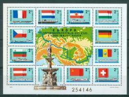 Hungary 1977 Anube Main And Rhine MNH** - Lot. A298 - Blocks & Sheetlets
