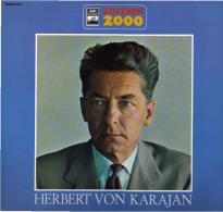 * 2LP *  HERBERT VON KARAJAN - EDITION 2000 (Germany 1973 EX!!!) - Klassiekers