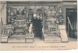PARIS - Maison Guilleret, Opticien, Orfèvrerie - 37 Boulevard St Martin - Défaut De Coin - Arrondissement: 03