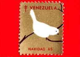 VENEZUELA - Usato - 1965 - Natale - Navidad - Christmas - Colomba - Etichetta - Venezuela