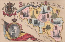 Souvenir De Belgique, Les Neuf Provinces, SAR Le Prince Albert (pk17228) - Andere