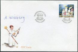2003 Aland Christmas Signed FDC - Signature - Aland