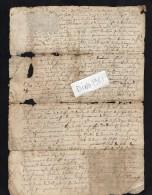 VP1631 - Auvergne - Acte - Commune De FERRIERES - Seals Of Generality