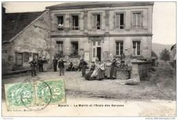 Manois La Mairie Et L'Ecole Des Garçons - Andelot Blancheville