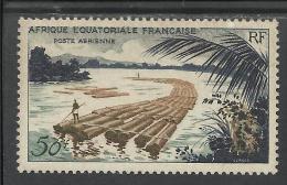 AFRIQUE EQUATORIALE FRANCAISE - AEF - A.E.F. - 1955 YT PA 58** - Unused Stamps