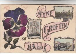 Halle, Hal Mijne Groeten Uit Halle (pk17245) - Halle
