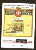 S.M.O.M. 1997 Bloc 51 (°) Oblitéré Used - Malte (Ordre De)
