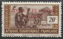 AFRIQUE EQUATORIALE FRANCAISE - AEF - A.E.F. - 1940 - YT 98** - Unused Stamps
