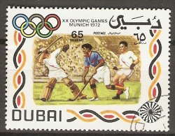 DUBAI    -    HOCKEY  SUR  GAZON    Oblitéré - Jockey (sobre Hierba)