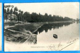 LIP047, Châteauneuf-sur-Loire, Le Chastaing, Précurseur, Circulée 1903 - Other Municipalities