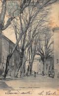 83 - CORRENS - Place Centrale - 2 SCANS - France
