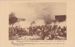 Belgium Brussels Defense De La Porte De Schaerbeek - Museums
