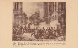 Belgium Brussels Defense De La Place Royale - Museums