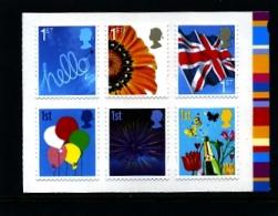 GREAT BRITAIN - 2008  SMILERS  SET  MINT NH - 1952-.... (Elizabeth II)