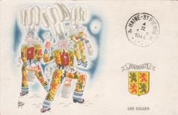 Hainaut (Binche) Les Gilles, Carte De 1944 (pk17272) - Binche
