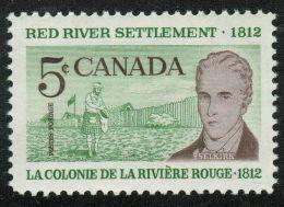 CANADA, 1962,  # 397, RED RIVER SETTLEMENT - 1952-.... Règne D'Elizabeth II
