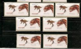 Portugal ** & Dinossauros  ** (C3) - Vignettes D'affranchissement (ATM/Frama)