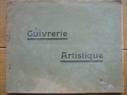 Catalogue CUIVRERIE ARTISTIQUE - A. FLEURET à PARIS - Vases, Lampes à Pétrole, Lampes électriques, Appareils D´éclairage - Publicités