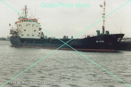 1-1370. MLAWA - General Cargo Ship. Photo 4x6 (10x15cm) - Bateaux