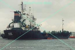 1-1371. MLAWA - General Cargo Ship. Photo 4x6 (10x15cm) - Bateaux