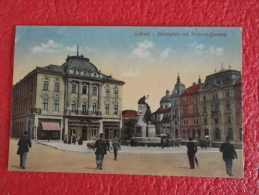 Slovenia Laibach Marienplatz 1918 - Slovenia