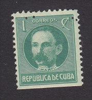 Cub, Scott #264, Mint Hinged, Jose Marti, Issued 1917 - Ungebraucht