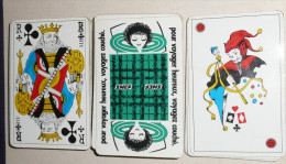 Rare Jeu de 54 cartes, SNCF Soci�t� Nationale des Chemins de Fer Fran�ais, Wagon couchette, carte, joker