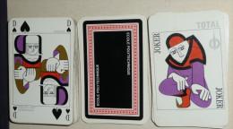 Rare Jeu de 54 cartes, Ecole POLYTECHNIQUE, joker, total renault