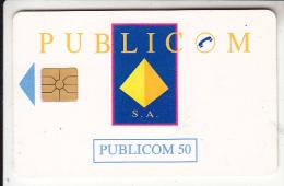 IVORY COAST - Publicom Logo, Second Issue 50 Units, Chip GEM1A, Used - Côte D'Ivoire