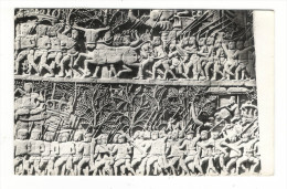 CAMBODGE  /  SIEMREAP  /  ANGKOR  /  LE  BAYON  ( Fin Du XIIème Siècle ) , BAS-RELIEF  /  BEAU  TIMBRE  ( 1967 ) - Cambodja