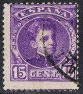 Spain SG297 1905 Definitive 15c Bright Violet Good/fine Used - 1889-1931 Kingdom: Alphonse XIII