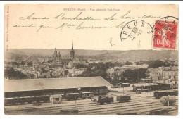 27 Evreux . Vue Générale Sud-Ouest (Gare Trains) - Evreux