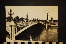 75, PARIS,  PONT ALEXANDRE III    EDITIONS ESTEL - Ponts