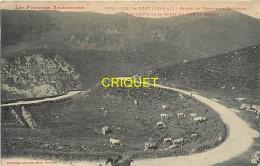Cpa 09, Le Col De Port, Homme Avec Cheval En Avant, Vaches En Pâture... - Andere Gemeenten