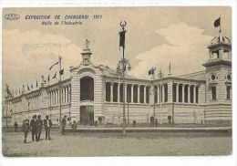 CPA BELGIQUE CHARLEROI EXPOSITION DE 1911 HALLS DE L´INDUSTRIE - Charleroi