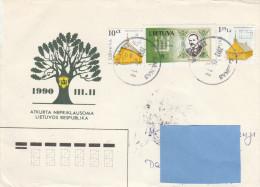 Z3] Enveloppe Cover Lituanie Lithuania - Lituanie